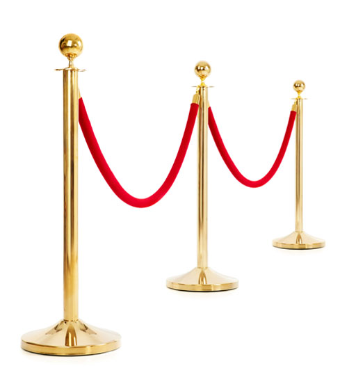 Post and Rope Stanchions