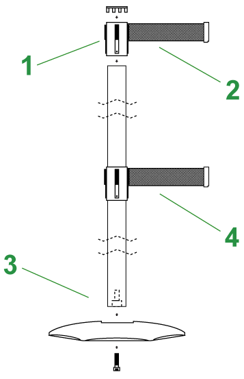 Safety Stanchion
